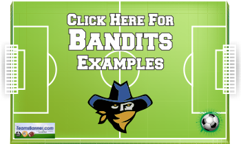 bandits Soccer Banners
