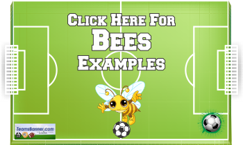 bees Soccer Banners