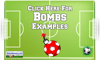 bombs Soccer Banners