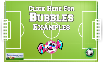 bubbles Soccer Banners