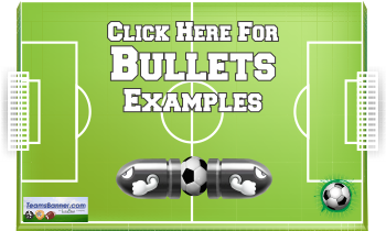 bullets Soccer Banners