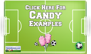 candy Soccer Banners