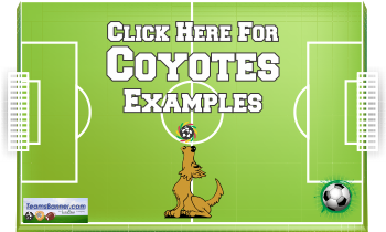 coyotes Soccer Banners