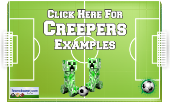 creepers Soccer Banners