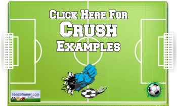 crush Soccer Banners
