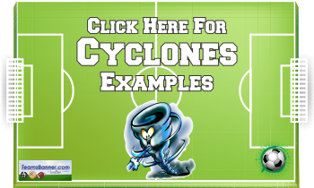 cyclones Soccer Banners