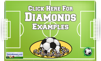 Diamonds Soccer Banners