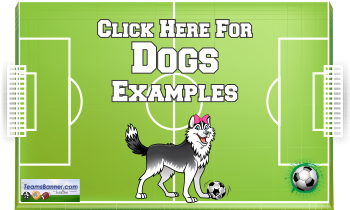 dogs Soccer Banners