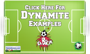 dynamite Soccer Banners