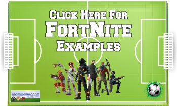 Fortnite Soccer Banners