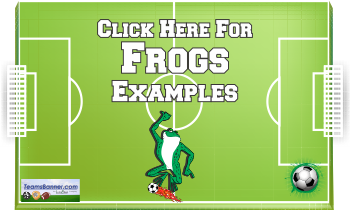 frogs Soccer Banners