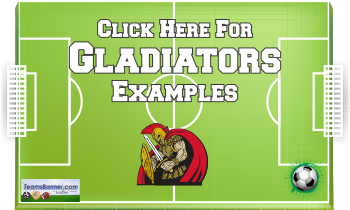 gladitors Soccer Banners