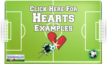 hearts Soccer Banners
