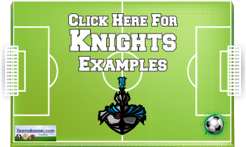 knights Soccer Banners