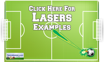 lasers Soccer Banners