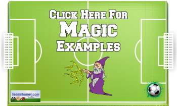 magic Soccer Banners