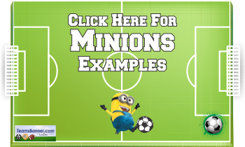 minions Soccer Banners