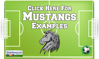 mustangs Soccer Banners