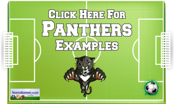 panthers Soccer Banners