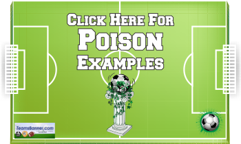 poison Soccer Banners