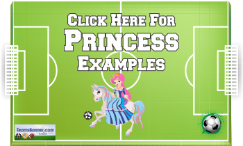 princess Soccer Banners