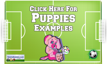 puppies Soccer Banners