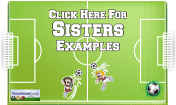 sisters Soccer Banners