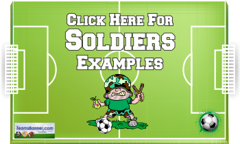 soldiers Soccer Banners