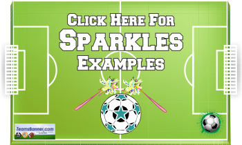 sparklers Soccer Banners