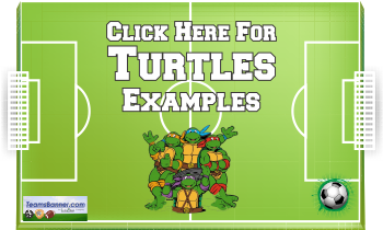 turtles Soccer Banners