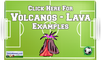 volcanos Soccer Banners
