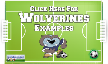 wolveines Soccer Banners