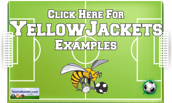 yellowjackets Soccer Banners