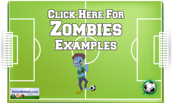 zombies Soccer Banners