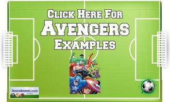avengers Soccer Banners