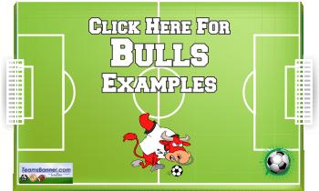 bulls Soccer Banners