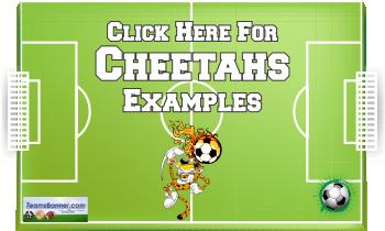cheetahs Soccer Banners