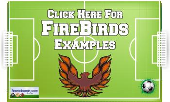 firebirds Soccer Banners