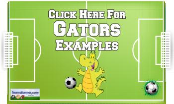 gator Soccer Banners