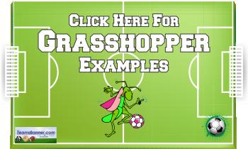 grasshopper Soccer Banners