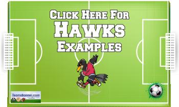 hawks Soccer Banners