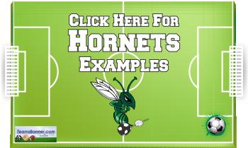 hornets Soccer Banners