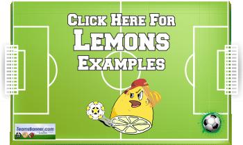 lemons Soccer Banners