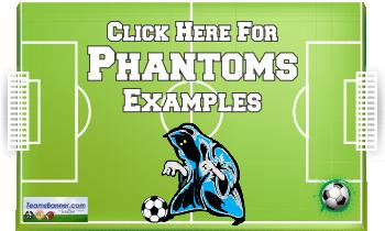phantoms Soccer Banners