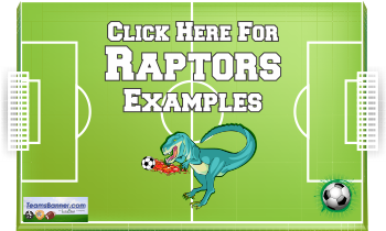 raptors Soccer Banners