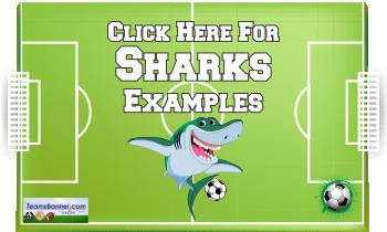 sharks Soccer Banners