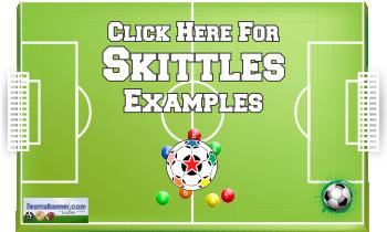 skittles Soccer Banners