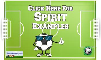 spirit Soccer Banners