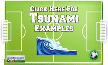 tsunami Soccer Banners